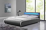 Ліжко SEVI 180х200 см з LED підсвічуванням, фото 2