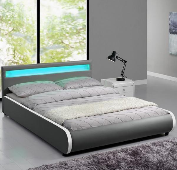Кровать SEVI 180х200 см. с LED подсветкой