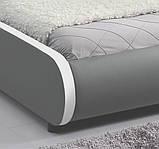 Ліжко SEVI 180х200 см з LED підсвічуванням, фото 4