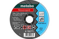 Отрезной диск Metabo Novorapid Inox 125х1 мм.