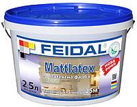 Латексная краска для стен и потолков Mattlatex