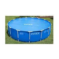 Тент-чехол для круглого бассейна 488 см Intex (59956)