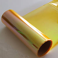 Желтая тонировка хамелеон для фар (30 см / 0.16 мм)