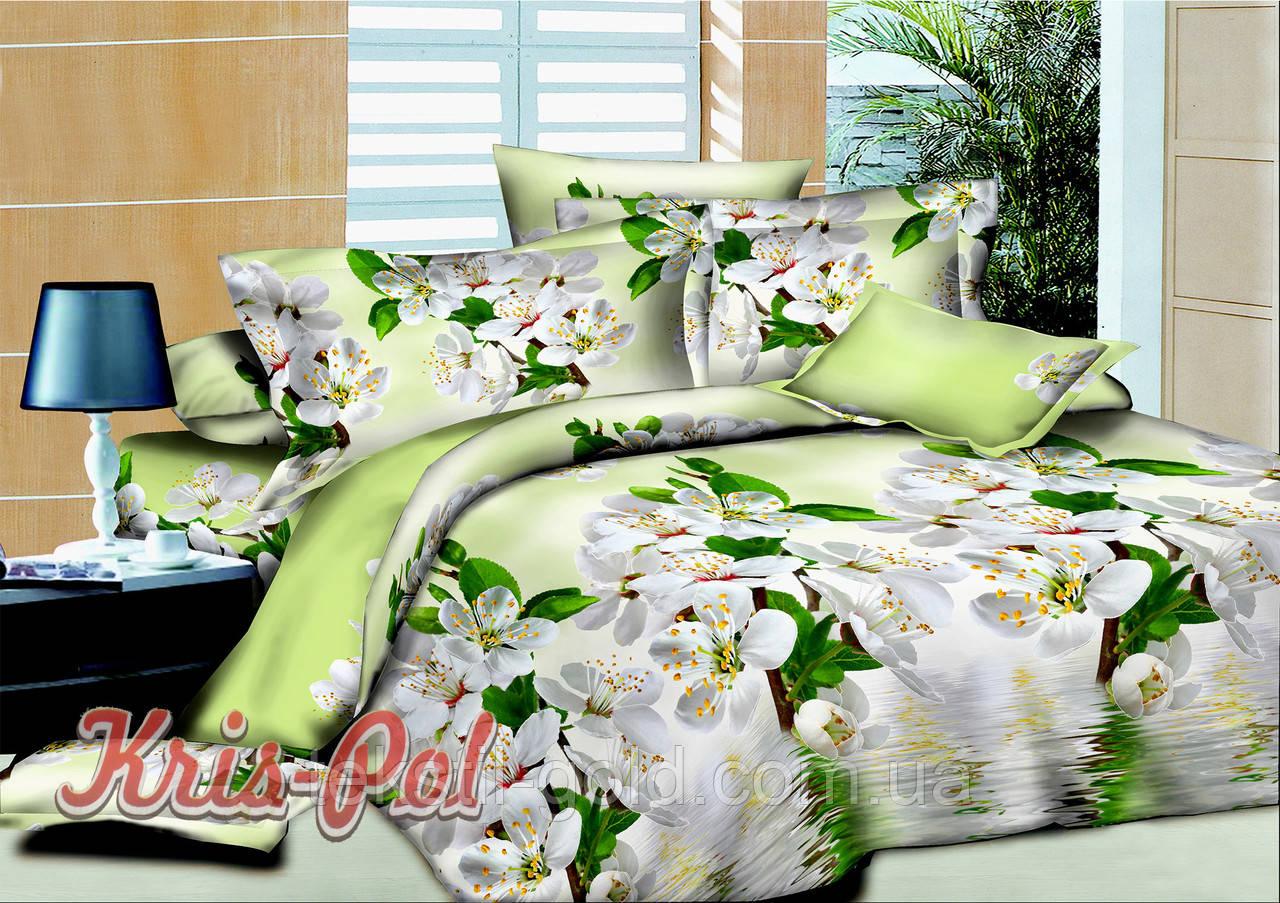Комплект постельного белья ТМ KRIS-POL (Украина) ранфорс семейный 61135
