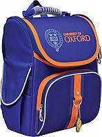 """Рюкзак каркасний """"1 вересня"""" H-11 """"Oxford blue"""", 34*26*14см 552743"""
