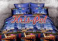 Комплект постельного белья ТМ KRIS-POL (Украина) ранфорс семейный 61181198