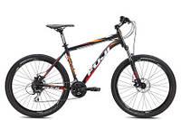 "Велосипед Fuji 26"" Nevada 1.7 чрн./орн 23"" (2013)"