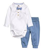 """Комплект для новорожденного мальчика  """"Джентльмен""""  1-2 месяца, фото 1"""