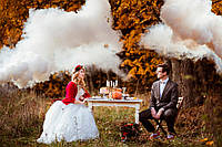 Белый дым для фотосессии, Цветной дым Jorge, дымовые шашки