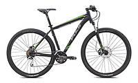 "Велосипед Fuji 29"" Nevada 1.4 чрн./зел.17"" (2015)"