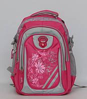 Ортопедический школьный рюкзак для подростка. Отличное качество. Яркий дизайн. Рюкзак для девочки. Код: КДН461