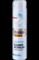 Balea MEN Rasierschaum sensitive - Пена для бритья для мужчин, уход за чувствительной кожей, 300 мл