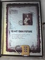 """Блокнот подарочный с замком """" TO MY OWN FUTURE"""""""