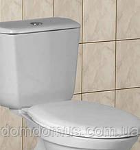 """Сиденье с крышкой для унитаза """"Люкс"""" Efe Plastics, Украина"""