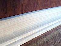 Плинтус деревянный 60 мм, фото 1
