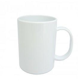 Чашка сублимационная белая пластиковая 300 мл