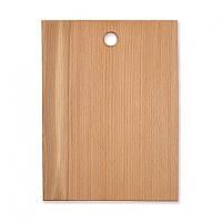 Доска разделочная деревянная 18*34*1.5см Ама