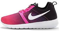 Женские кроссовки Nike Roshe Run, найк роше ран розовые