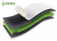 Полуторный матрас Gamma / Гамма 120х200 ЕММ h23 Sleep&Fly ORGANIC двухсторонний 3D независимые пружины 150кг