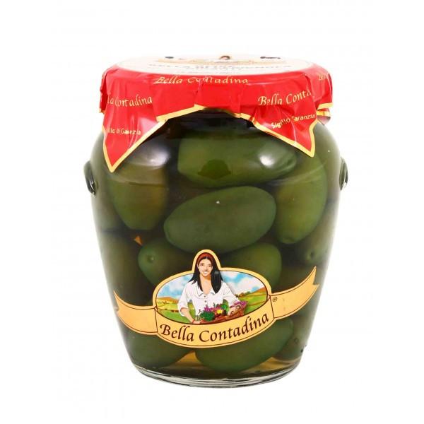 Оливки Bella Contadina Cerignola Verde, 314 мл