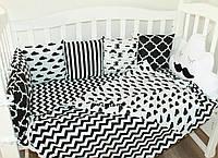"""Комлект постельного белья в детскую кроватку """" Джентльмен"""""""