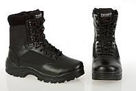 Берцы Армейские ботинки TACTICAL BOOT ZIPPER YKK Black Thinsulate MIL-TEC Германия
