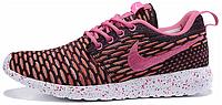 Женские кроссовки Nike Roshe Run Flyknit, найк роше ран