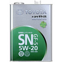 TOYOTA Motor Oil 5W-20 Моторное масло для бензиновых двигателей 1л.