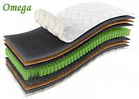 Односпальный матрас Omega / Омега 80х190 ЕММ h21 Sleep&Fly ORGANIC кокос независимые пружины 150кг