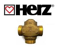 """Термостатический защитный клапан котла HERZ Teplomix 1 1/4 """" (DN 32) 55°С"""