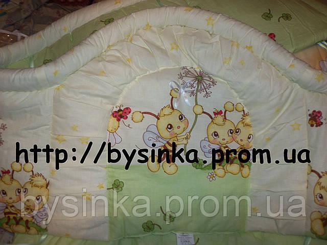 Охранка высокая -40 см в детскую кроватку.