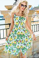 61576042a09 Гарна пані - е-магазин жіночого одягу. г. Днепр. 91% положительных отзывов.  (290 отзывов) · Платье лимонный принт