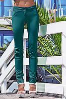 Узкие батальные брюки