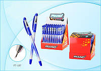 Ручка масляная Piano Soft PT-197 (синяя)