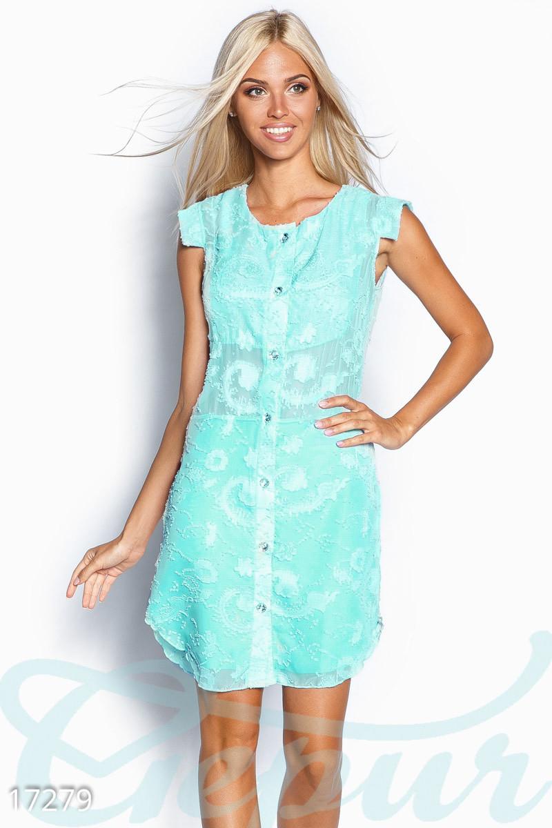 a4b60f57c7f Шифоновое платье-рубашка - Гарна пані - е-магазин жіночого одягу в Днепре