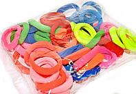 Цветные резинки для волос набор 50 шт.