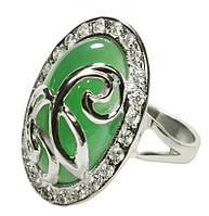 Женское серебряное кольцо Комодо.