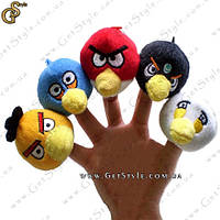 """Куклы на пальцы - """"Angry Birds"""" - 5 шт."""