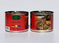 Консервы для котов Baskerville курица с сердечками,  200г
