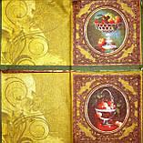 Редкая салфетка декупажная вазочки с фруктами 1798, фото 3