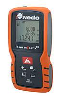 NEDO laser mEssfix 80 — лазерный дальномер-рулетка