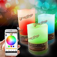 ARILUX™ AL-CL01 управления Bluetooth  смарт-красочный LED беспламенной свечи легкие наборы для iPhone Андроид