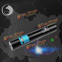 У короля ZQ-J10 473nm синий луч высокой мощности лазера фонарик с нами зарядное устройство
