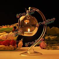 Висит хрусталя свеча стол держатель свет лампы посадки свечи романтический ужин свадьбы