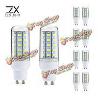 Гх 10x GU10 5w 36 СМД 5730 LED чистый белый свет теплый белый крышка кукуруза лампа AC110V AC220V