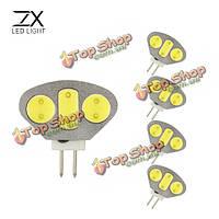 LED Лампочка 4.5w AC/DC 12v Clear белый/теплый белый сектор LED освещение лампа G4 1X 5x гх