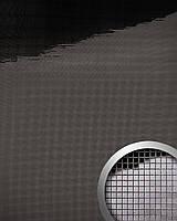 WallFace 13357 M-Style панель настенная самоклеящаяся с текстурой зеркальной мозаики антрацитовая | 0,96 кв.м