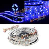 0.5/1/2/3/4/5м 3528 Ультрафиолетовое UV фиолетовый водонепроницаемый полосы лампа черный свет 12v