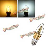 E27 Свеча E14 e12 b22 b15 6w 35 SMD 2835 LED Clear белый теплый белый свет лампы лампы ac85-265V