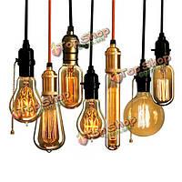 110В 220В лампа накаливания промышленные лампы накаливания E27 ретро старинные 40Вт электрическая лампочка Эдисона